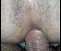 Sexo anal gostoso até deixar o cu do cara todo gozado